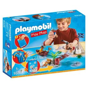 Playmobil Piraten Met Plattegrond 9328