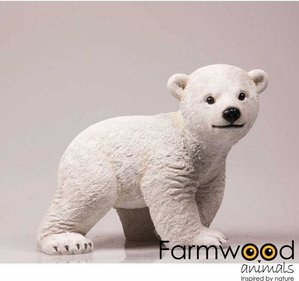 Farmwood Animals Polar Bear garden image