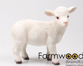 Farmwood Animals Standing Lamb garden image