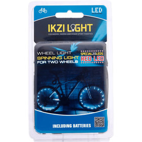IKZI spoke light with 2x 20 red LED