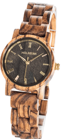 Holzkern Earth wrist watch