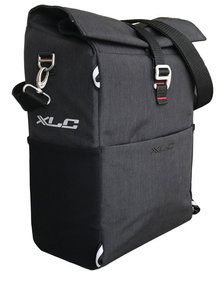 XLC Commuter bicycle bag gray II