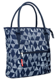 New Looxs Cameo single bicycle bag blue