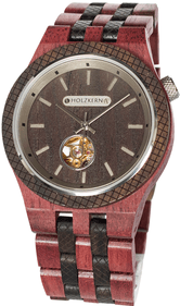 Holzkern Democritus wristwatch