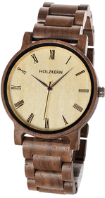 Holzkern Fall Dusk (walnut/maple) polshorloge