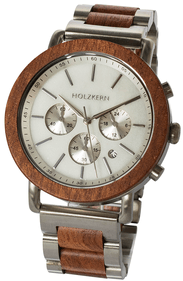 Holzkern Mist wrist watch