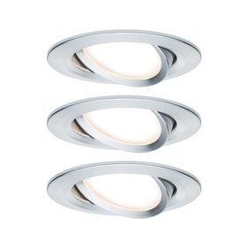 Paulmann Ceiling Coin Slim IP23 inbouwspot set van 3
