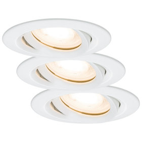 Paulmann Ceiling Nova LED IP65 inbouwspot set van 3