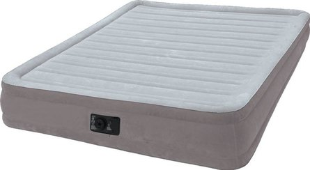 Intex Comfort-Plush Mid Raise Airbed Full