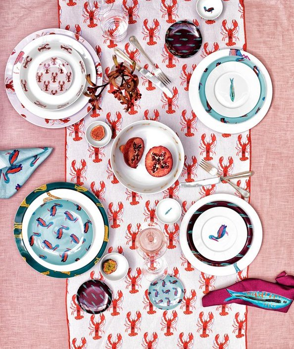 Fabienne Chapot Lobster dinerbord