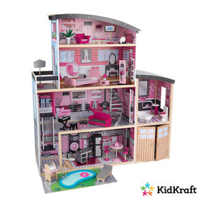 Kidkraft Dollhouse Sparkle Mansion