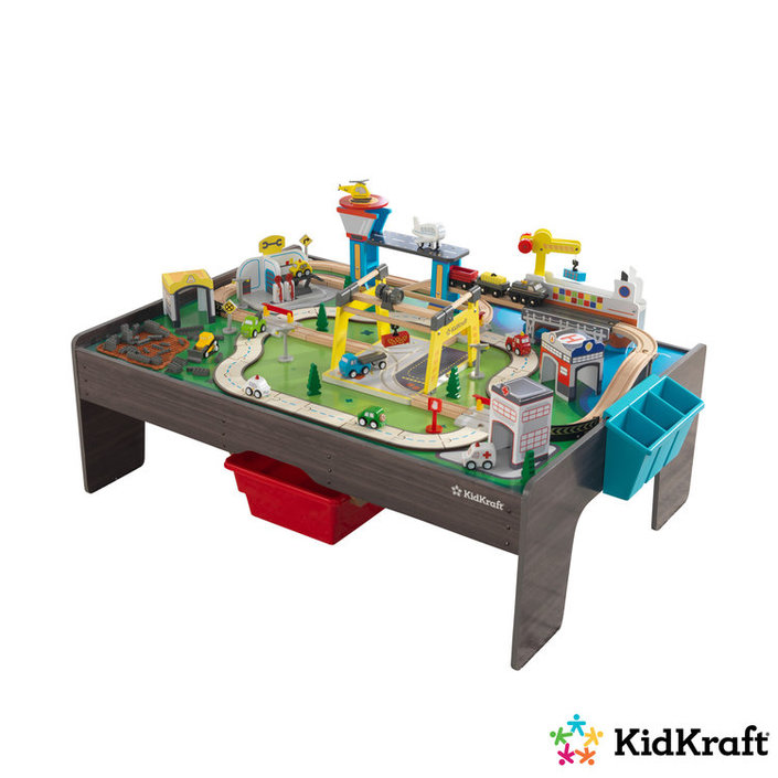 want to buy kidkraft my own city vehicle and activity. Black Bedroom Furniture Sets. Home Design Ideas