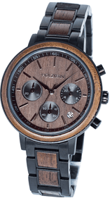 Holzkern Cloudy Night wrist watch