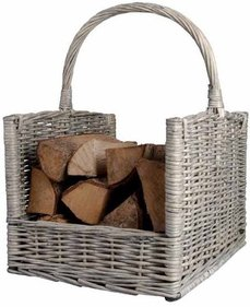 Esschert Design log storage basket