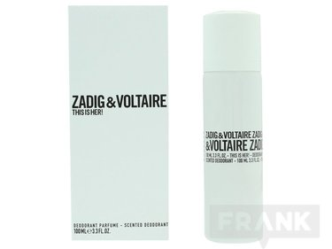 Zadig & Voltaire This Is Her Scented Deo Spray EDP