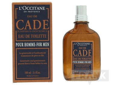 L'Occitane Eau De Cade For Men Spray EDT