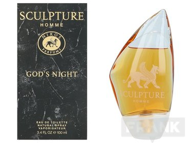 Nikos Sculpture Homme God'S Night Spray EDT