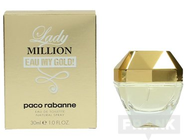 Paco Rabanne Lady Million Eau My Gold Edt Spray