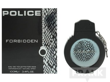 Police Forbidden For Man Edt Spray