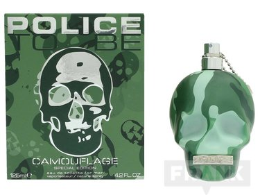 Police To Be Camouflage For Man Edt Spray