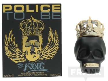 Police To Be The King For Man Spray EDT