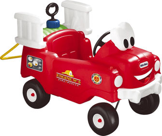 Little Tikes Firefighter Truck with hose