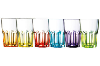 CRAZY COLORS TUMBLER FH S6ASS 40CL