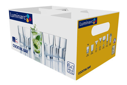 COCKTAIL BAR MOJITO BEKER HOOG 40CL