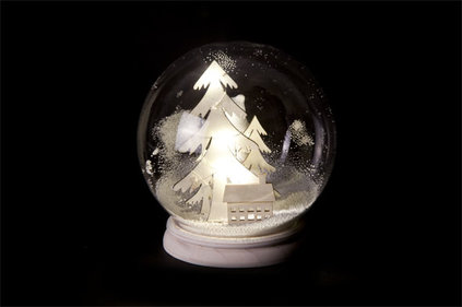 Cosy@home  Snow globe winter landscape