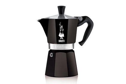 Bialetti Moka Express Color black 300 ml percolator