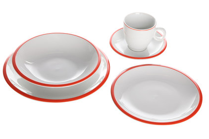 PLEASURE ORANGE DINNERSET S20