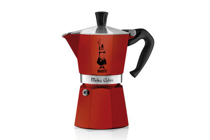 Bialetti Moka Express Colour rood 300 ml percolator