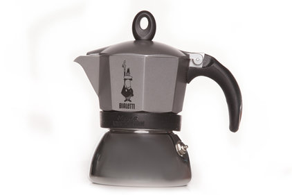 Bialetti Moka Induction antraciet 200 ml percolator