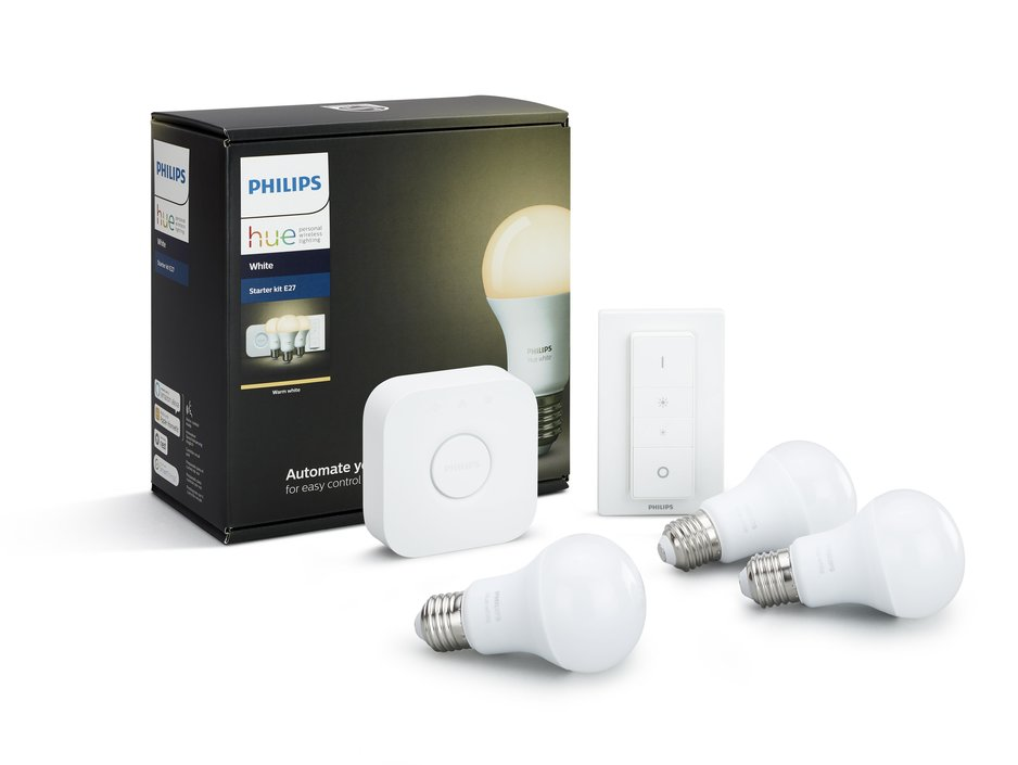 Philips Hue White E27 starterkit