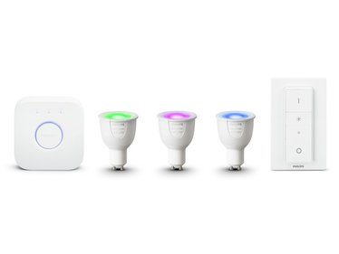Philips Hue White and Color Ambiance GU10 starterkit