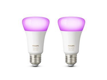 Philips Hue White and color ambiance E27 2-pack