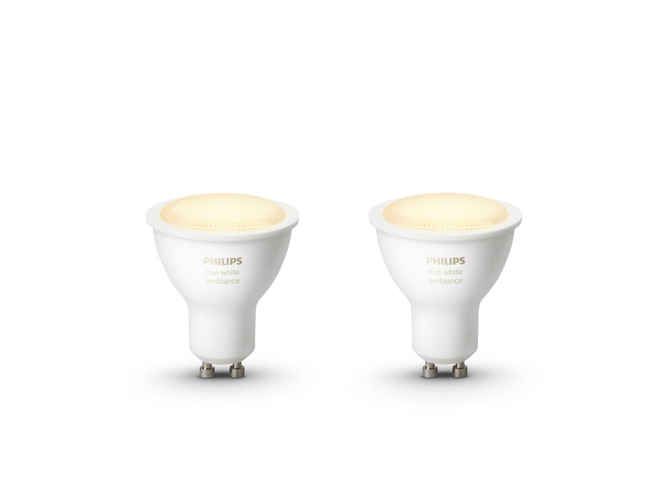 Philips Hue White GU10 2-pack