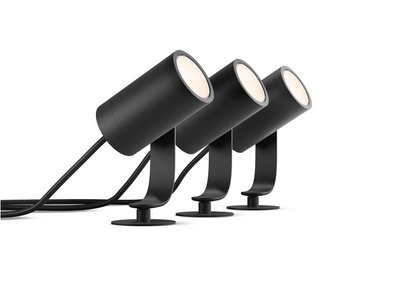 Philips Hue Outdoor Lily spotlight set van 3 (startersset)