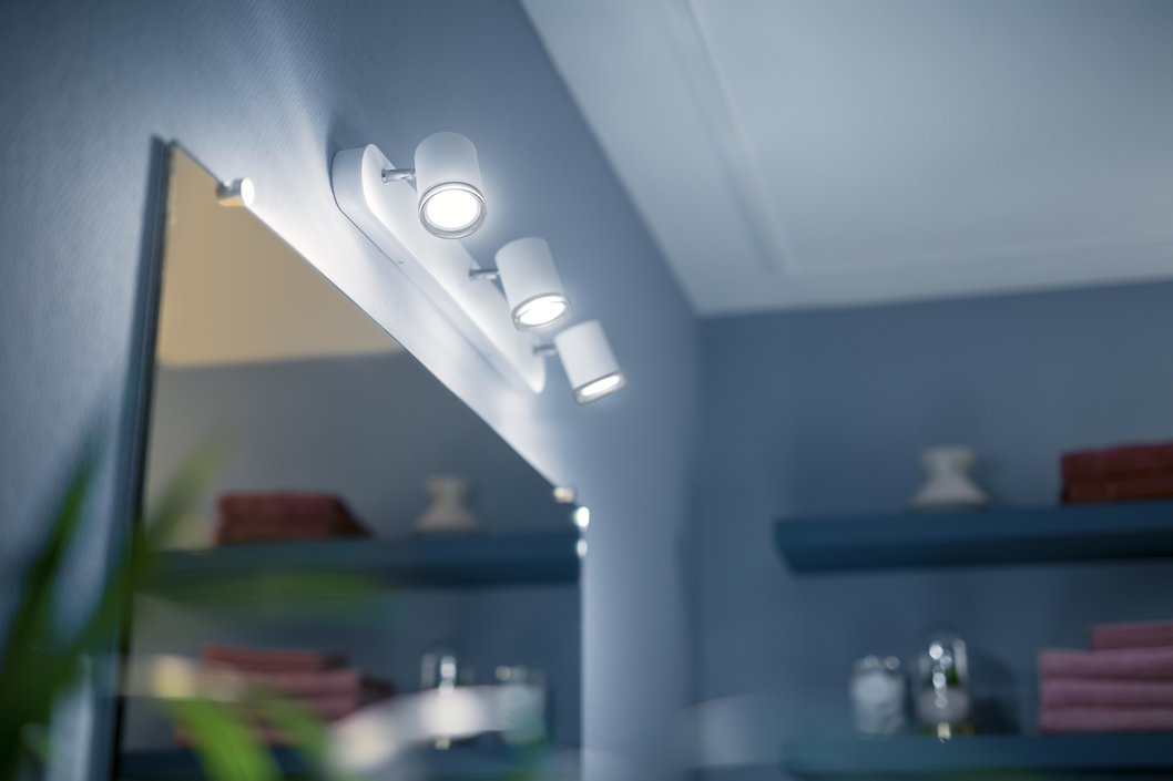Philips Hue Adore Trio spotlamp