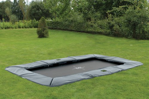 EXIT Supreme Ground Level trampoline rechthoek