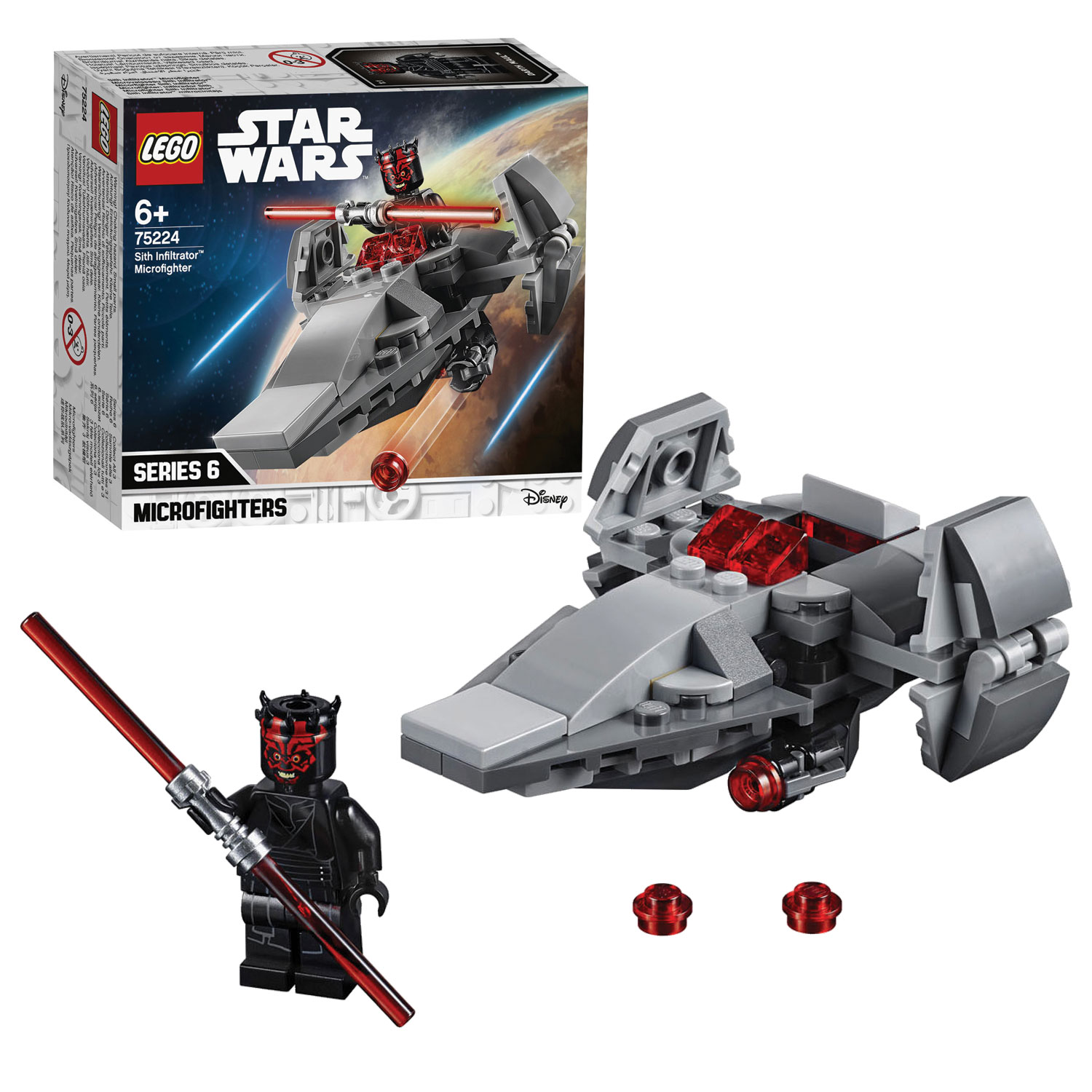 LEGO Star Wars Sith Infiltrator Microfighter - 75224