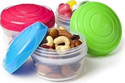 Sistema To Go set of 3 snack boxes