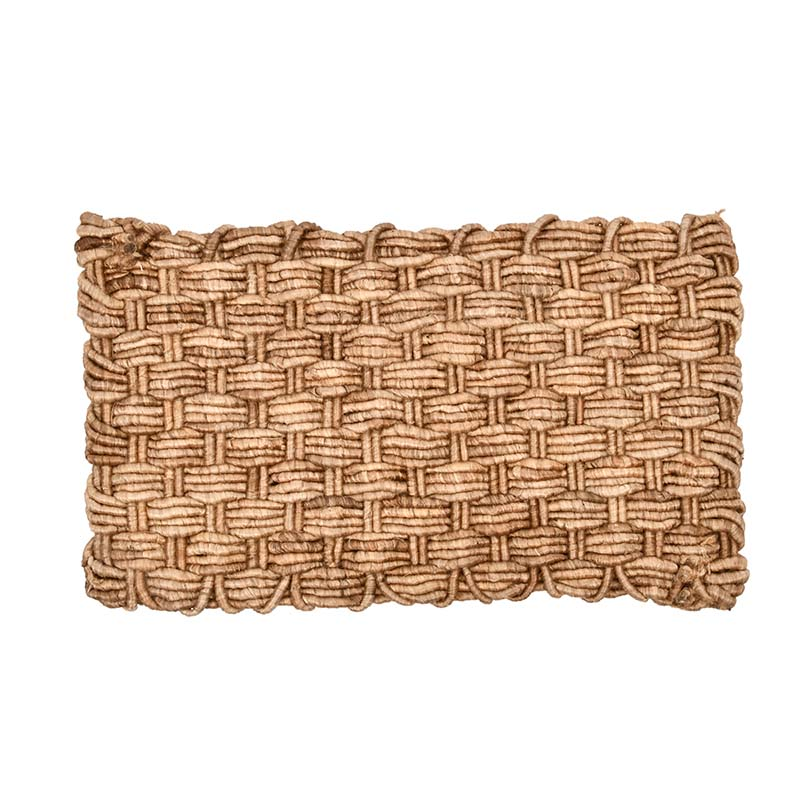 Esschert Design jute Dutch weave viervoud deurmat
