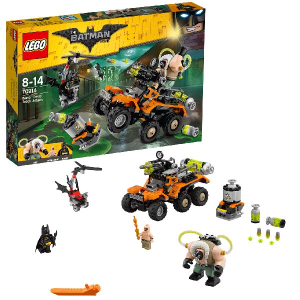 Batman Attaque De Lego Cadeau 70914 SurFrank Bane Camion Movie zVpMqUS
