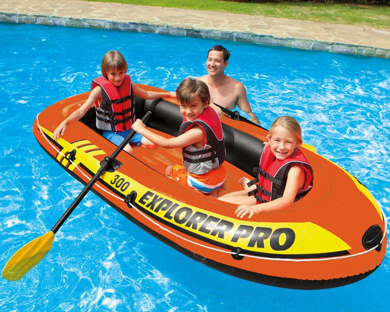 Want To Buy Intex Explorer Pro 300 Inflatable Boat Set