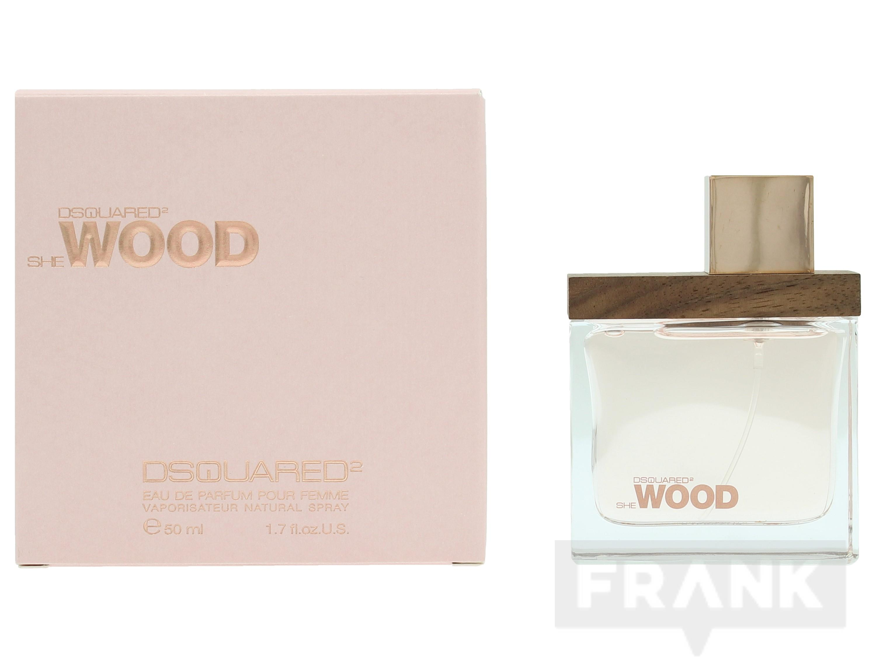 Afbeelding van Dsquared She Wood Pour Femme Spray EDP