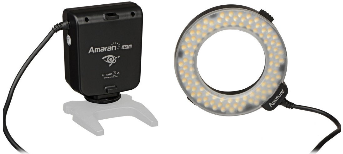Image of Aputure Amaran Halo Ring Flash Canon (AHL HC100)