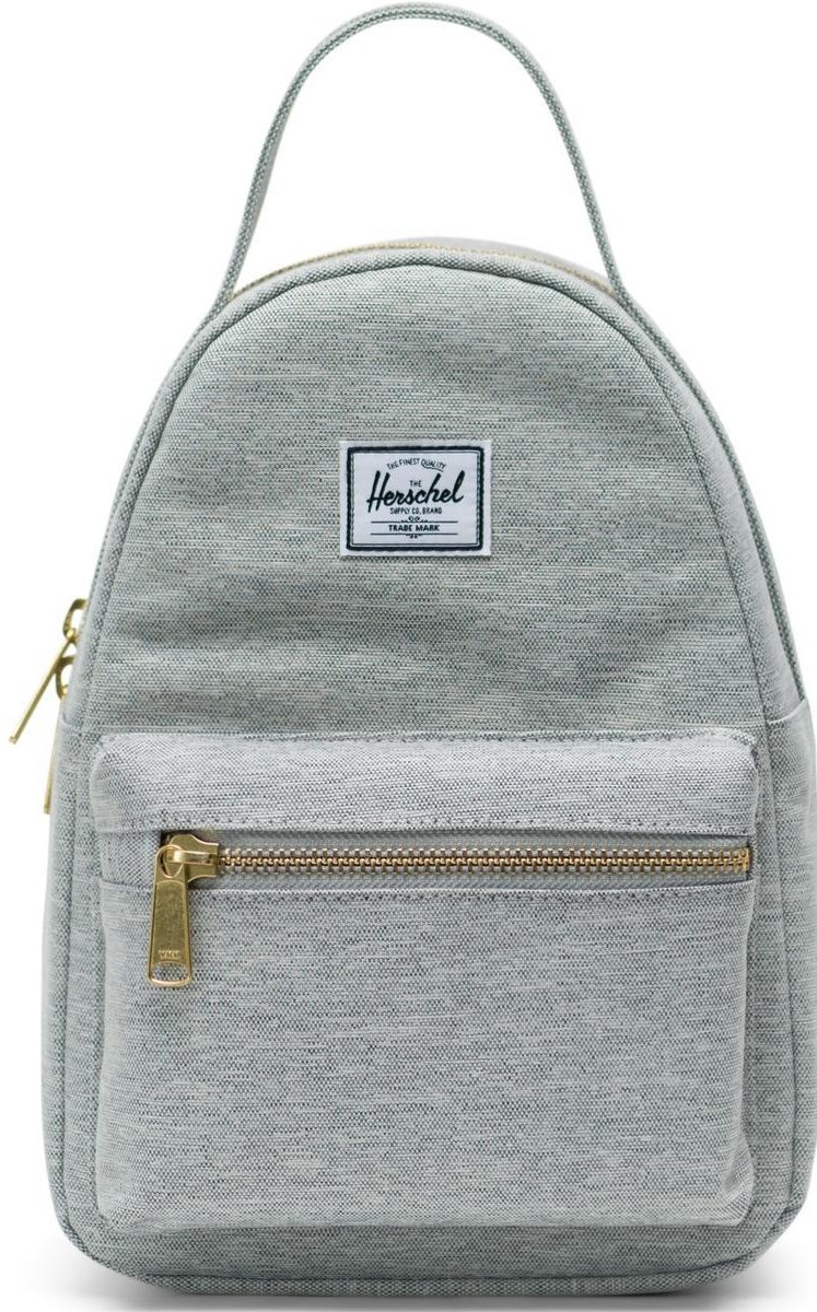 Herschel Nova Mini rugzak (Basiskleur: 1866 Light Grey Crosshatch)