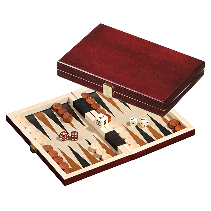 Philos Backgammon Peleponnes mini 19.5x12.5cm