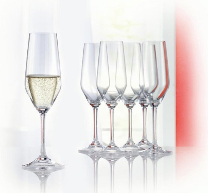 Want to buy spiegelau style champagne flute set of 4 frank - Spiegelau champagne flute ...